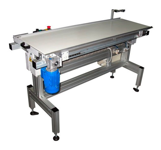 Flat Belt Conveyor Outfeed - Mesh Belt Reflow Oven
